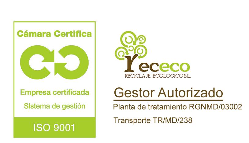 RECECO - Gestor Autorizado - Empresa Certificada Sistemas de Gestión