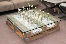 Mesa Decorativa Palets