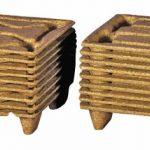 Palets de fibra de madera prensadas
